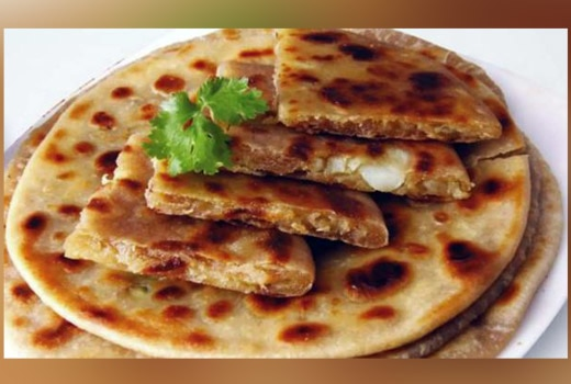 Leftover Roti Mexican Salsa Paratha Recipe