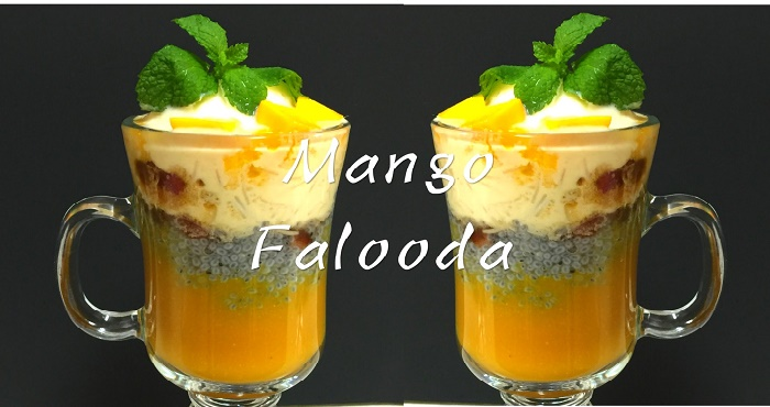 Mango Faluda Recipe In Hindi