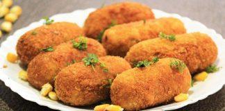 Paneer Corn Roll Recipe In Hindi