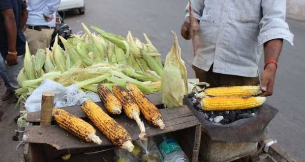 Roadside Corn Bhutta
