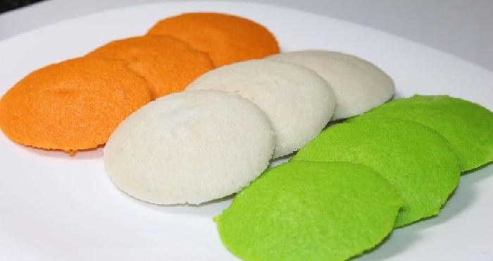 Tiranga Idli Recipe