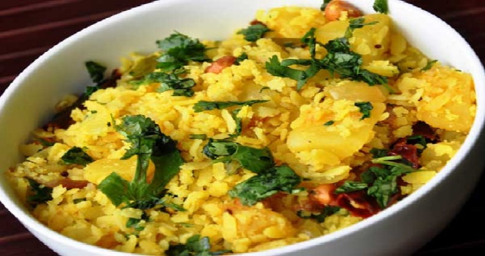 Aalu Poha Recipe