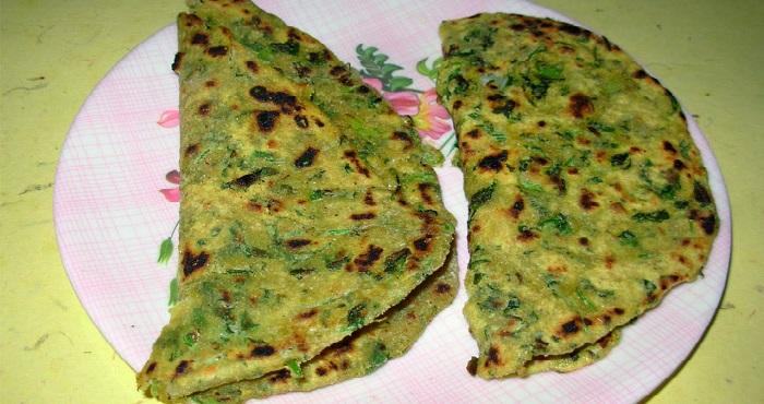 Hari Mirch Paratha Recipe