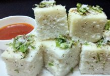 Rice Dhokla Recipe
