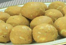 Atta Besan Laddu Recipe in Hindi