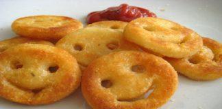 Potato Smiely Snacks Recipe