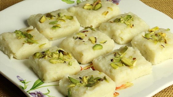 Mawa Burfi Recipe