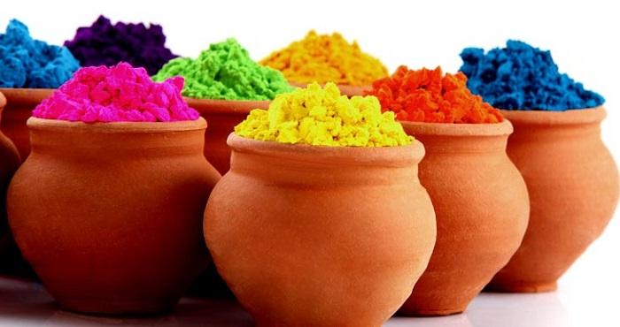 homemade holi colours