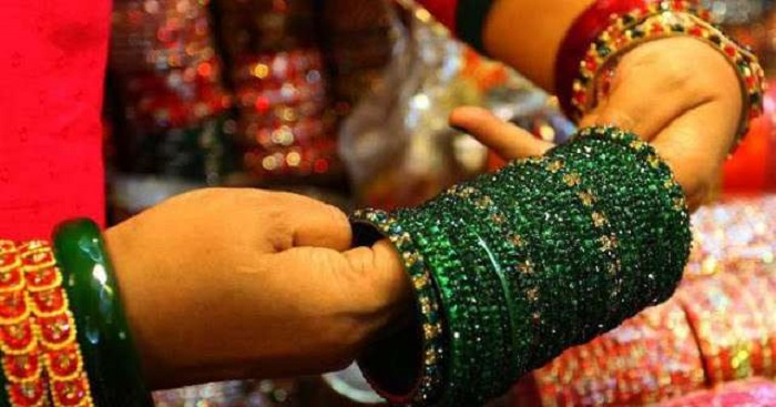 Benefits Of Wearing Green Bangles