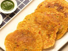 Besan Sooji Cheela Recipe