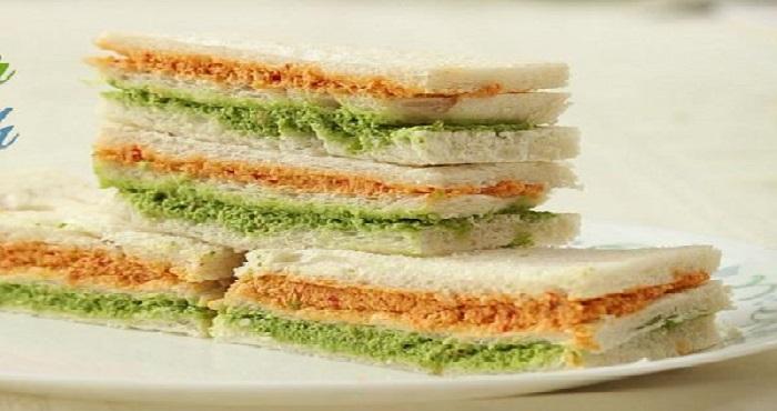 Tricolor Sandwich Recipe