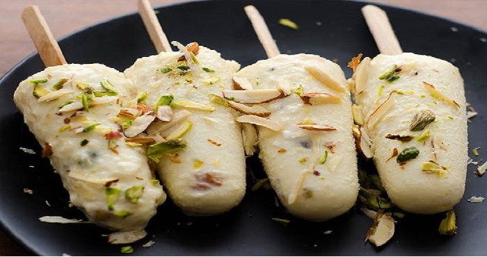 Badam Kulfi Recipe In Hindi
