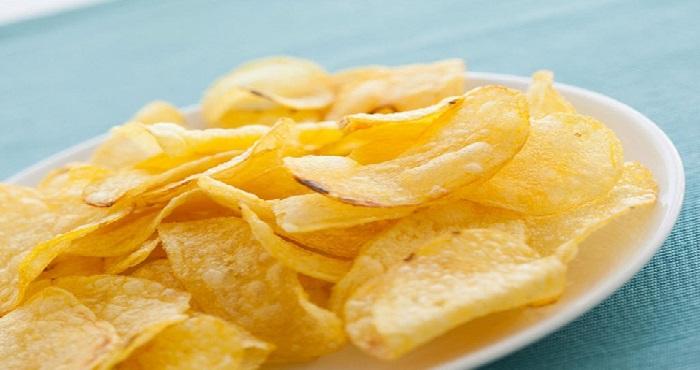 Aalu Chips Recipe In Hindi