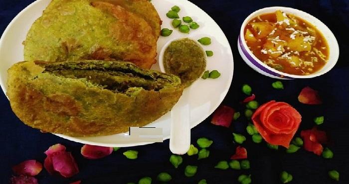 Hare Chane Ki Kachori Recipe