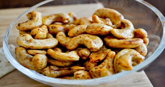 Fried Kaju Masala Recipe