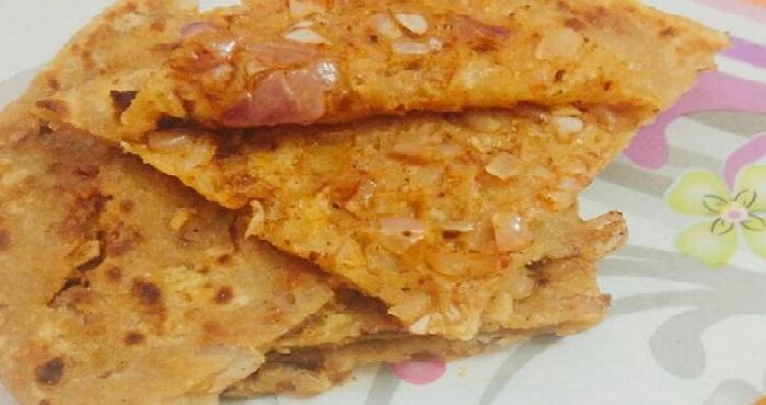 Stuffed Onion Paratha Recipe