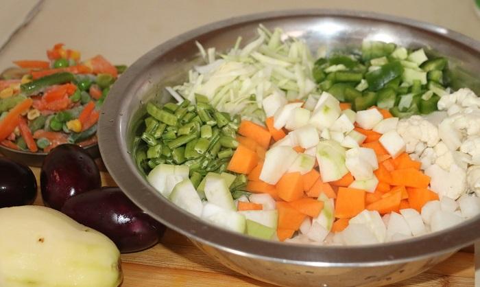 Annakoot Sabji Recipe