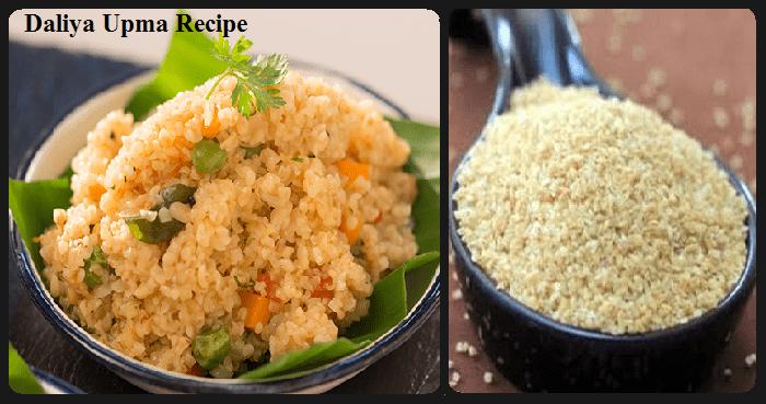 Daliya Upma Recipe