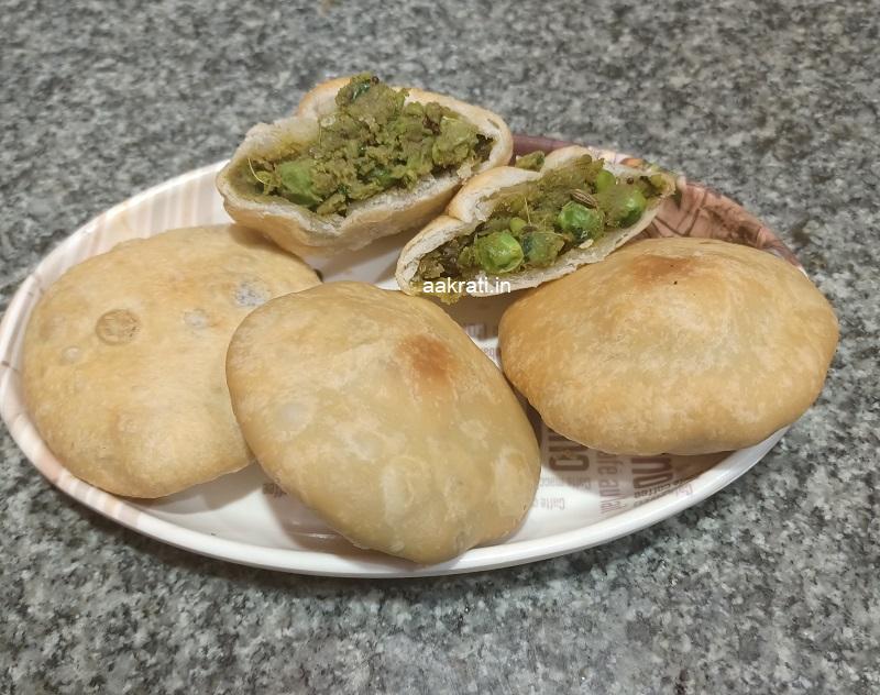 Matar Ki Kachori Recipe