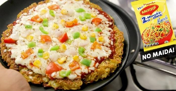 Maggi Pizza Recipe