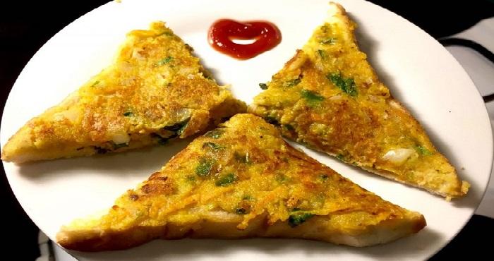 Moong Dal Toast Recipe